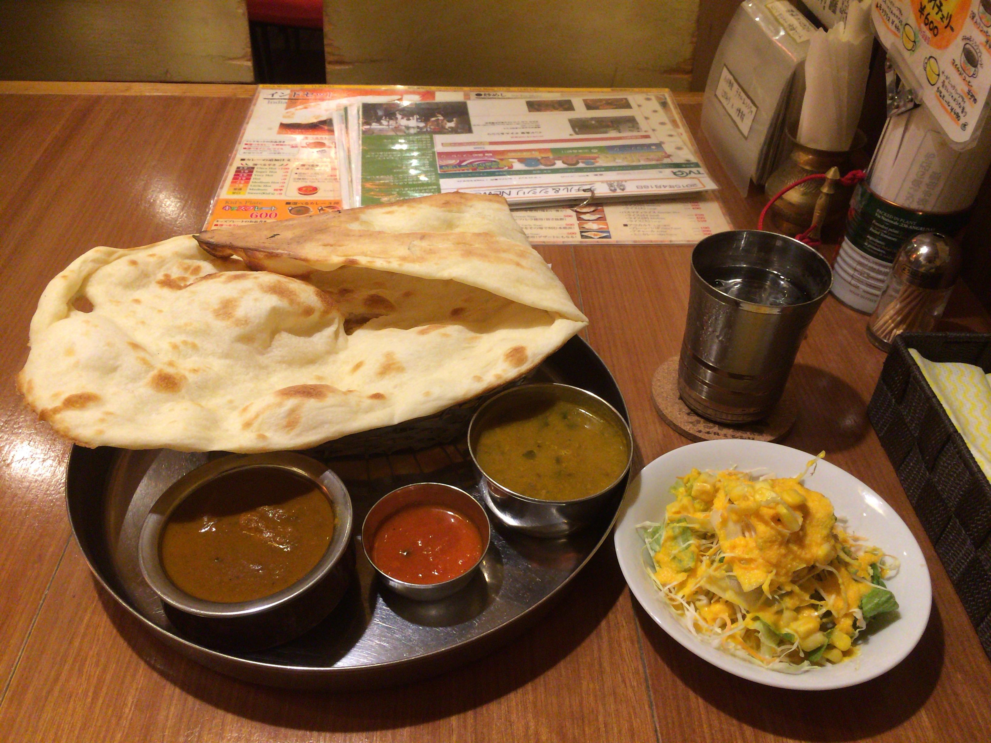 5つ星ホテルレストランシェフが作る!「インド食堂 チチル&シシリ」