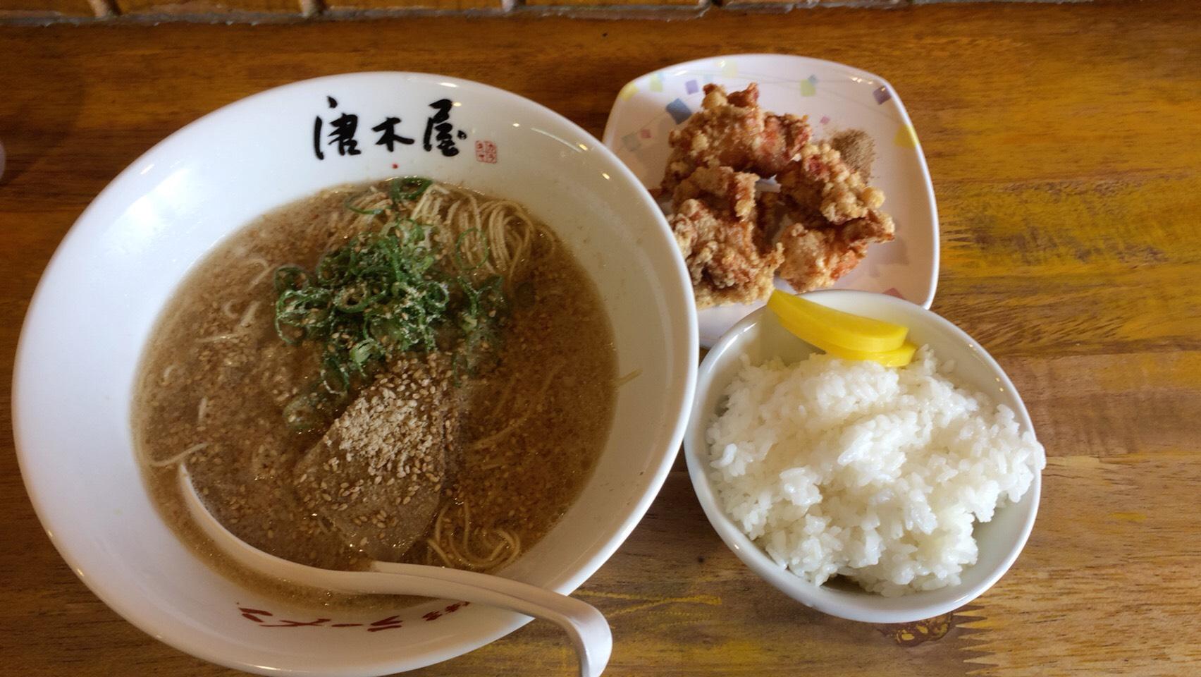 コスパがすごい!!ラーメン290円!「唐木屋 六本松店」