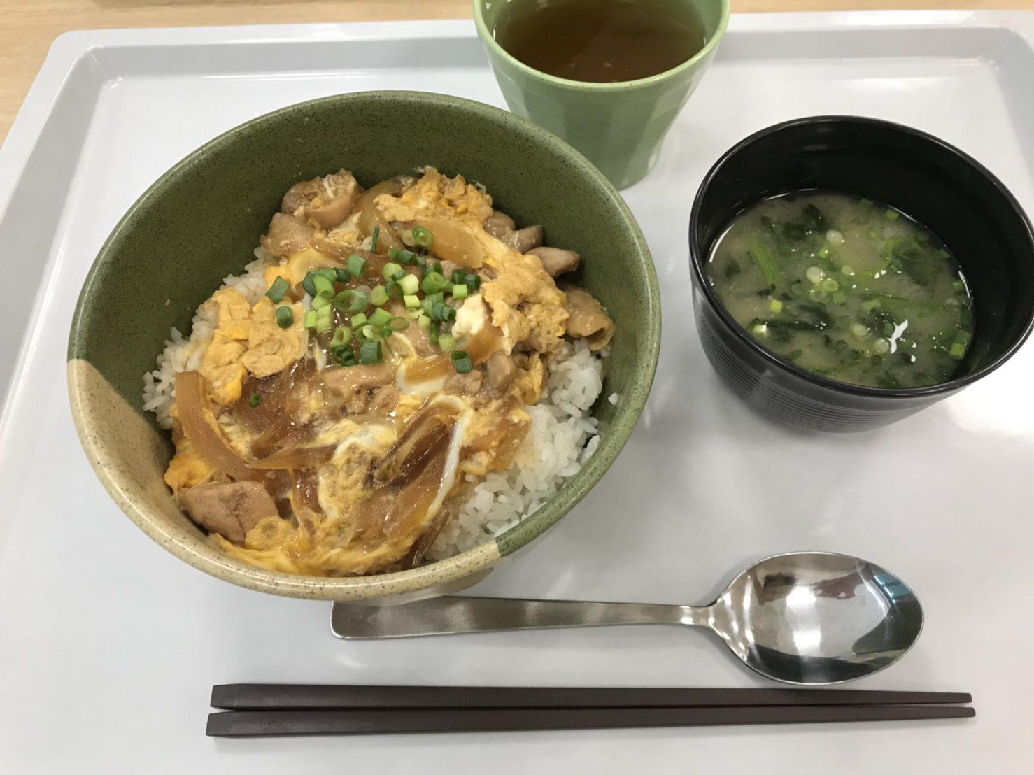 裁判所の食堂オープン! 定食・丼・麺類・カレー♫